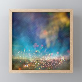 Fairy Dust Glitter Framed Mini Art Print