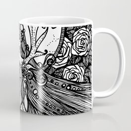 Rose Curls Coffee Mug
