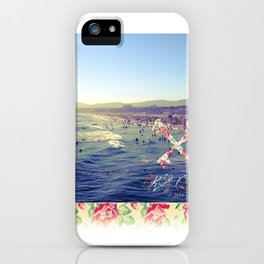 Santa Monica Beach iPhone Case