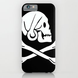 Henry Every Pirate Flag - Jolly Roger Skull iPhone Case
