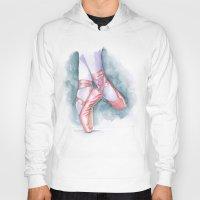 sneaker Hoodies featuring ballet sneaker by rchaem