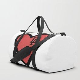 Love LA - Red Duffle Bag