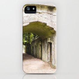Highgate Cemetery, London - West Cemetery iPhone Case