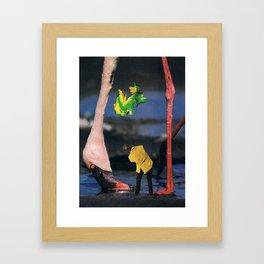 arsicollage_11 Framed Art Print