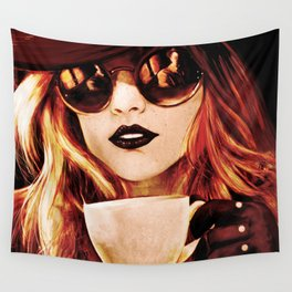 Comfortable Silences - in color Wall Tapestry