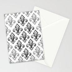 Royal - fleur de lys Stationery Cards