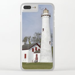 Sturgeon Point Lighthouse Clear iPhone Case