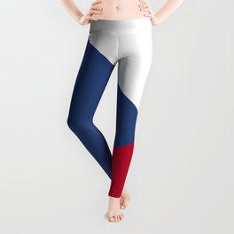 Czech Republic flag emblem Leggings