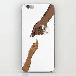 ¿Donation? iPhone Skin