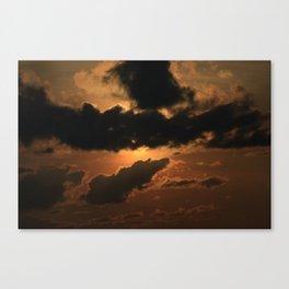Thunder Mountain Speedway Sunset Canvas Print