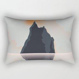 balls pyramid Australia Rectangular Pillow