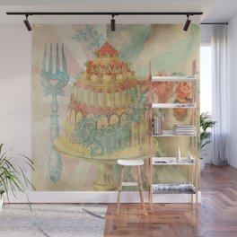 Let Them Eat Cake Wall Mural