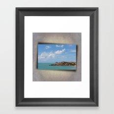 Beautiful Coastal View Framed Art Print