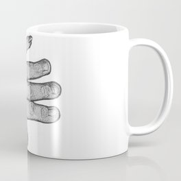 Guide Through Every Storm (greyscale) Coffee Mug