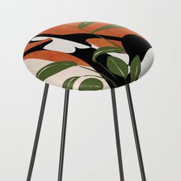Abstract Female Figure 20 Counter Stool