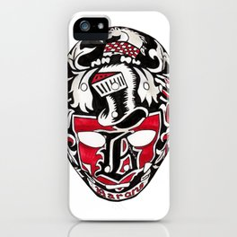 Meloche - Mask iPhone Case