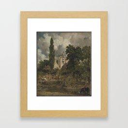 John Constable 1776–1837   The Grove, Hampstead Framed Art Print