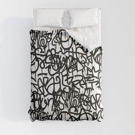 Graffiti Pattern | Street Art Urban Graphic Comforters