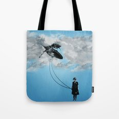 Defying Gravity Tote Bag