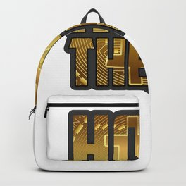 Funny Bitcoin Crypto hodl product - perfect present Backpack