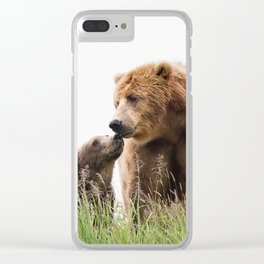 Bears Love Clear iPhone Case