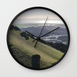 Burdell Hillside Wall Clock