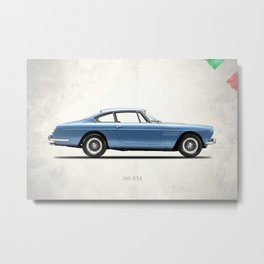 The 250 GTE Metal Print