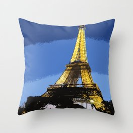 Paris II Throw Pillow