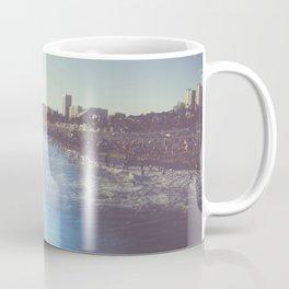 Santa Monica Beach Sunflare Prism Coffee Mug