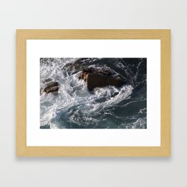 Uncontrolled Framed Art Print
