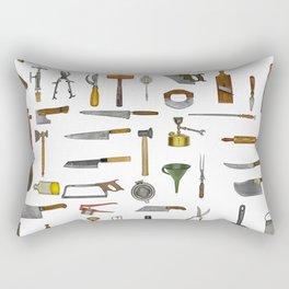 vintage utensils Rectangular Pillow