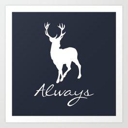 Always a Deer Art Print