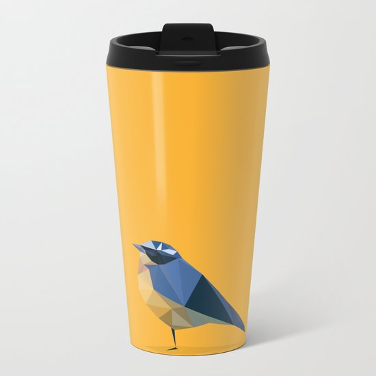 Bird Metal Travel Mug