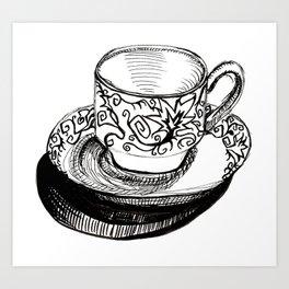 Teacup 2 Art Print