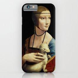 Leonardo da Vinci - The Lady with an Ermine iPhone Case