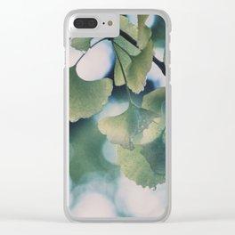Rain in Yoyogi-kōen Clear iPhone Case