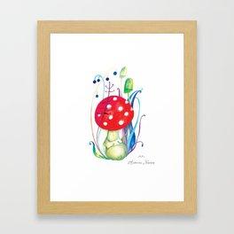 """Illustration for the kids book """"Small White"""" 2 Framed Art Print"""