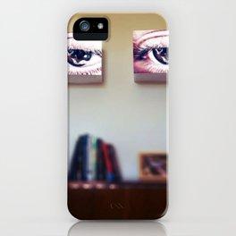 Room Full of Eyes iPhone Case