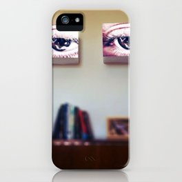 Room Full of Eyes iPhone Case