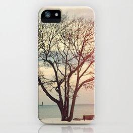 Snow #2 iPhone Case