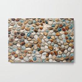 Pebble Rock Flooring III Metal Print