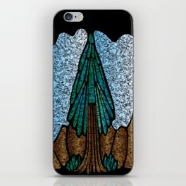 Stained Glass Fir iPhone Skin
