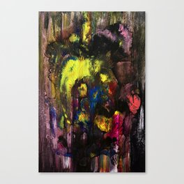 Abstract 98 - Paradise Flower Canvas Print