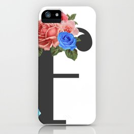 """I paint flowers so they will not die."" Frida Kahlo. iPhone Case"