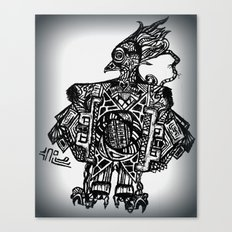 Robotic Bird Canvas Print