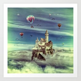 Laputa - Castle in the Sky Art Print
