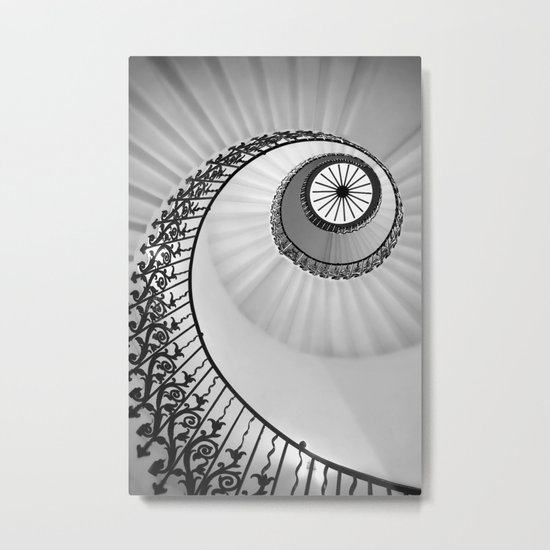 Ammonite Metal Print