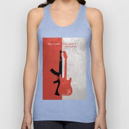 """""""War is over if you want it"""" Unisex Tank Top"""