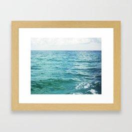 Colors of the Sea II Framed Art Print