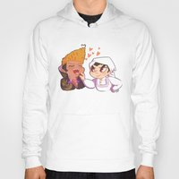 baking Hoodies featuring Baking together by AMC Art